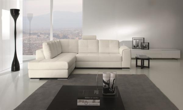 σαλόνι white