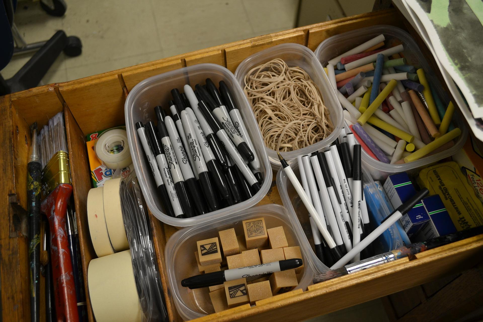 Συρτάρι markers